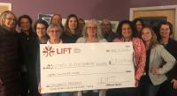 LIFT Giving Circle Donates Over $18K to  Steps To End Domestic Violence